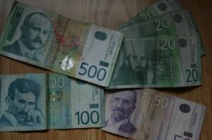 セルビアのお金