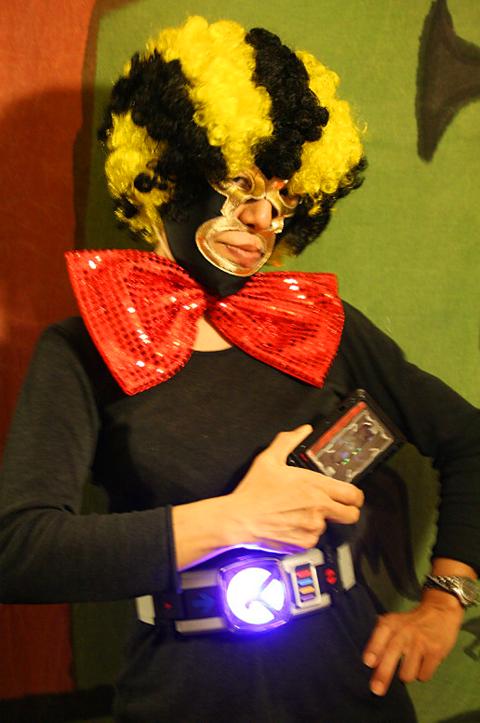 仮面ライダー電王変身ベルトとライダーパス型カードだぜ(笑)