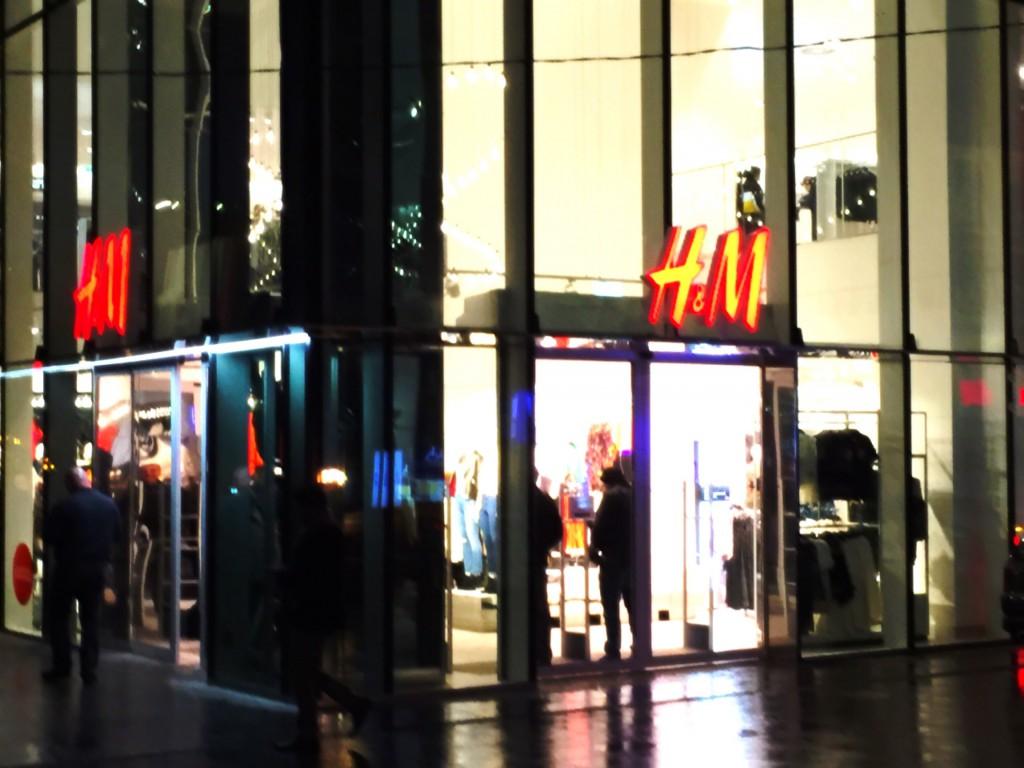 トビリシにある「H&M」