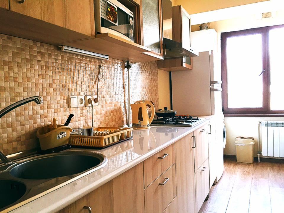 エレバン「5th Floor Guest House Yerevan」のキッチン