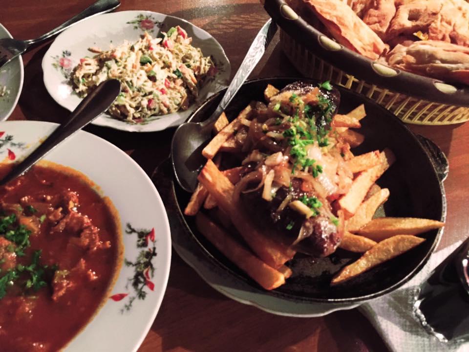 トビリシ Mikheil Lermontovi St にあるレストラン「Racha(ラチャ)」で食べたお料理
