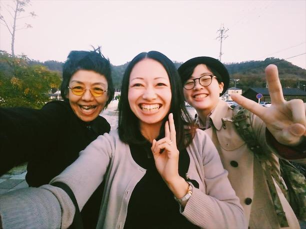 滋賀県長浜市を中心に活動されている不登校の親の会「cotton~こっとん~」の 藤田惠理さんと。